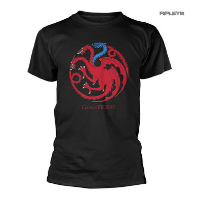 Official T Shirt Game of Thrones House Targaryen ICE DRAGON Sigil All Sizes