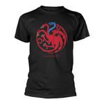 Official T Shirt Game of Thrones House Targaryen ICE DRAGON Sigil All Sizes Thumbnail 2