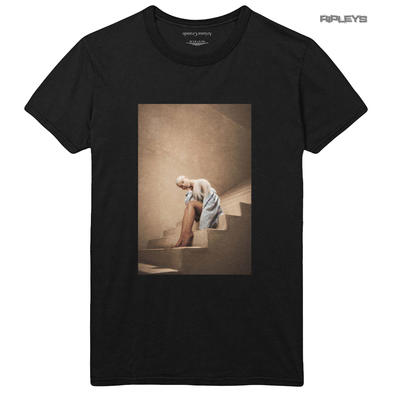 Official T Shirt ARIANA GRANDE Black 'Staircase' Sweetener Album All Sizes