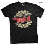 Official T Shirt Motorcycle Bike BSA Birmingham 'Genuine Parts' All Sizes Thumbnail 1
