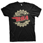 Official T Shirt Motorcycle Bike BSA Birmingham 'Genuine Parts' All Sizes Thumbnail 2