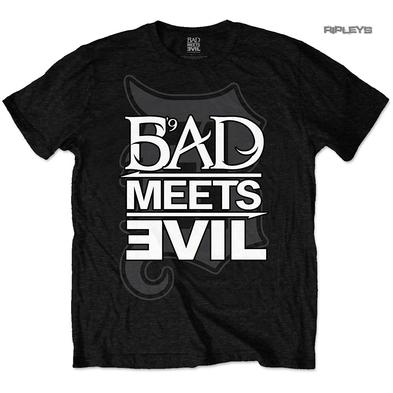 "Official T Shirt Rap BAD MEETS EVIL Royce Da 5'9"" Eminem  'Logo' All Sizes"