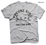 Official Disney Grey T Shirt THE LION KING 1994 Simba 'Future King' All Sizes Thumbnail 1