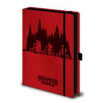 Official STRANGER THINGS A5 Notebook Journal Red UPSIDE DOWN Stationery Gift Thumbnail 2