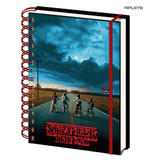Official STRANGER THINGS A5 Notebook Journal 3D MIND FLAYER Stationery Gift Thumbnail 1
