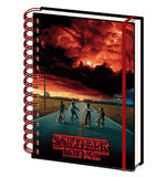 Official STRANGER THINGS A5 Notebook Journal 3D MIND FLAYER Stationery Gift Thumbnail 4