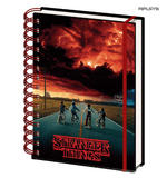 Official STRANGER THINGS A5 Notebook Journal 3D MIND FLAYER Stationery Gift Thumbnail 3