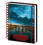 Official STRANGER THINGS A5 Notebook Journal 3D MIND FLAYER Stationery Gift Thumbnail 2
