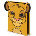 Official THE LION KING A5 Disney Notebook Journal SIMBA Fluffy Stationery Gift Thumbnail 2