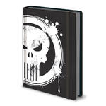 Official THE PUNISHER Premium A5 Notebook Journal SKULL LOGO Stationery Gift Thumbnail 2