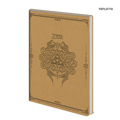 Official LEGEND OF ZELDA A5 Sage Symbol Flexi Notebook Journal Stationery Gift