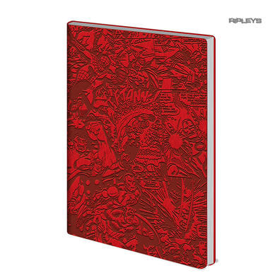 Official MARVEL Universe Comics Red Flexi Notebook Journal RETRO Stationery Gift