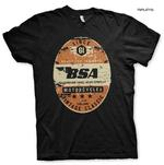 Official T Shirt Motorcycle Bike BSA Birmingham 'Small Arms Company' All Sizes Thumbnail 1