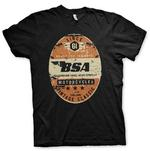 Official T Shirt Motorcycle Bike BSA Birmingham 'Small Arms Company' All Sizes Thumbnail 2