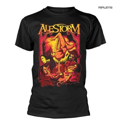 Official T Shirt ALESTORM Pirate Metal 'Surrender The Booty' All Sizes