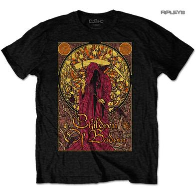 Official T Shirt CHILDREN OF BODOM  Metal 'Nouveau Reaper'  All Sizes