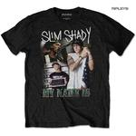 Official T Shirt Marshall EMINEM Homage 'My Name Is' Slim Shady All Sizes Thumbnail 1