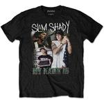 Official T Shirt Marshall EMINEM Homage 'My Name Is' Slim Shady All Sizes Thumbnail 2