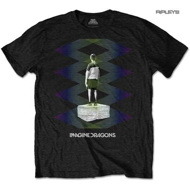 Official T Shirt IMAGINE DRAGONS Origins 'Zig Zag' Black All Sizes