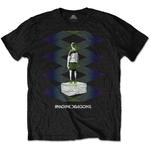Official T Shirt IMAGINE DRAGONS Origins 'Zig Zag' Black All Sizes Thumbnail 2