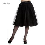 Hell Bunny Gothic Fairy 50s Skirt BALLERINA Black Tulle Net All Sizes Thumbnail 1