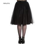 Hell Bunny Gothic Fairy 50s Skirt BALLERINA Black Tulle Net All Sizes Thumbnail 3