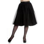 Hell Bunny Gothic Fairy 50s Skirt BALLERINA Black Tulle Net All Sizes Thumbnail 2