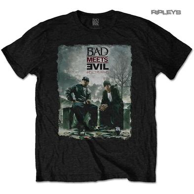 "Official T Shirt Rap BAD MEETS EVIL Royce Da 5'9"" Eminem  'Burnt' All Sizes"