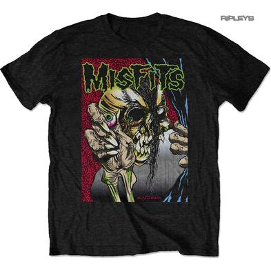 Official T Shirt MISFITS Crimson Fiend Skull  'Pushead' All Sizes