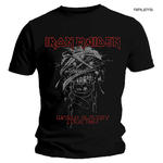 Official Metal T Shirt IRON MAIDEN World Slavery 'Tour 1984' All Sizes Thumbnail 1