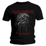Official Metal T Shirt IRON MAIDEN World Slavery 'Tour 1984' All Sizes Thumbnail 2