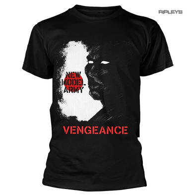 Official Black T Shirt NEW MODEL ARMY 'Vengeance' Album Cover All Sizes