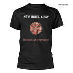 Official Rock T Shirt NEW MODEL ARMY 'Thunder & Consolation' Black All Sizes Thumbnail 1