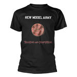 Official Rock T Shirt NEW MODEL ARMY 'Thunder & Consolation' Black All Sizes Thumbnail 2