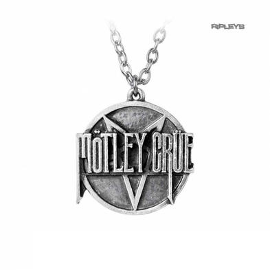 Official Alchemy MOTLEY CRUE Necklace Pendant Metal PENTAGRAM Chain