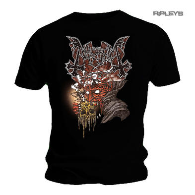 Official T Shirt MAYHEM Black Death Metal 'Transylvania' Logo All Sizes