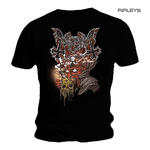 Official T Shirt MAYHEM Black Death Metal 'Transylvania' Logo All Sizes Thumbnail 1