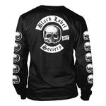 Official T Shirt BLACK LABEL SOCIETY Skulls 'Logo' Long Sleeve All Sizes Thumbnail 4