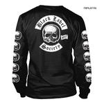 Official T Shirt BLACK LABEL SOCIETY Skulls 'Logo' Long Sleeve All Sizes Thumbnail 3