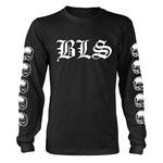 Official T Shirt BLACK LABEL SOCIETY Skulls 'Logo' Long Sleeve All Sizes Thumbnail 2