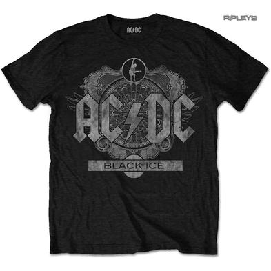 Official Metal T Shirt ACDC AC/DC Rock or Bust BLACK ICE Album All Sizes