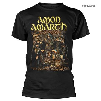 Official T Shirt AMON AMARTH Death Metal 'Thor' Thunder God All Sizes