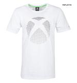 Official White Gaming T Shirt XBOX One Console '3D Dot Logo' All Sizes Thumbnail 1