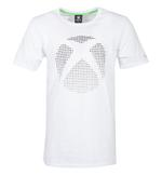 Official White Gaming T Shirt XBOX One Console '3D Dot Logo' All Sizes Thumbnail 2
