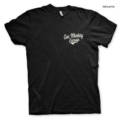 Official T Shirt GMG Gas Monkey Garage Hot Rod 'Racing' Texas Black All Sizes