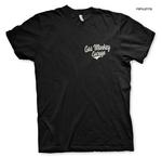Official T Shirt GMG Gas Monkey Garage Hot Rod 'Racing' Texas Black All Sizes Thumbnail 1
