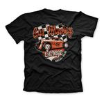 Official T Shirt GMG Gas Monkey Garage Hot Rod 'Racing' Texas Black All Sizes Thumbnail 4