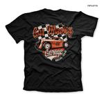 Official T Shirt GMG Gas Monkey Garage Hot Rod 'Racing' Texas Black All Sizes Thumbnail 3