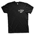 Official T Shirt GMG Gas Monkey Garage Hot Rod 'Racing' Texas Black All Sizes Thumbnail 2