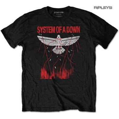 Official T Shirt Serj Tankian SOAD System of a Down 'Dove Overcome' All Sizes